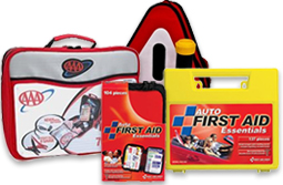 Auto First Aid & AAA Road Emergency Kits