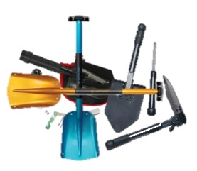 See the wide variety of folding and emergency shovels available!