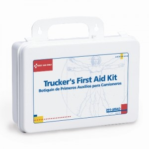 When not uncommon, basic injuries are unpredictable. Being prepared with the tools needed to treat the typical wounds is essential, especially when on the road. Our Trucker First Aid Kits are easily portable and wall mountable so your first aid tools are always near!