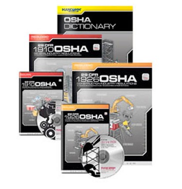 OSHA Compliance Kit The 1910 General Industry and 1926 Construction Industry books and CDs are now available for purchase together. Receive these two books and CDs, along with our OSHA Dictionary, for one low package price. The Cal/OSHA Compliance Kit includes: OSHA 1910 General Industry Book OSHA 1926 Construction Industry Book OSHA 1910 General Industry CD-ROM OSHA 1926 Construction Industry CD-ROM OSHA Dictionary