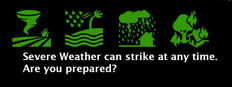 Severe weather can strike at any time. Are you prepared?